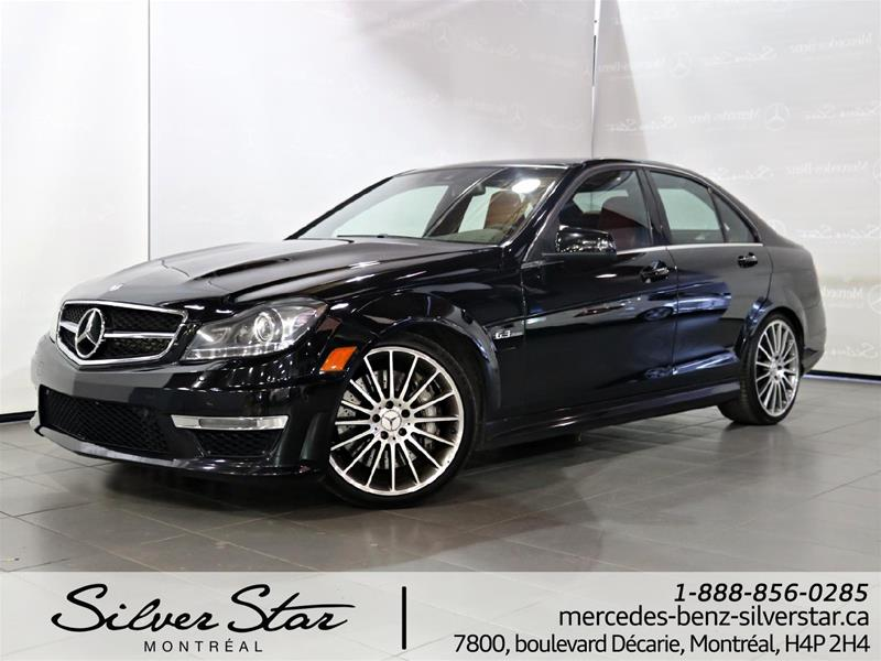 Pre owned 2013 mercedes benz c class c63 amg 4 door sedan for Silver star mercedes benz parts