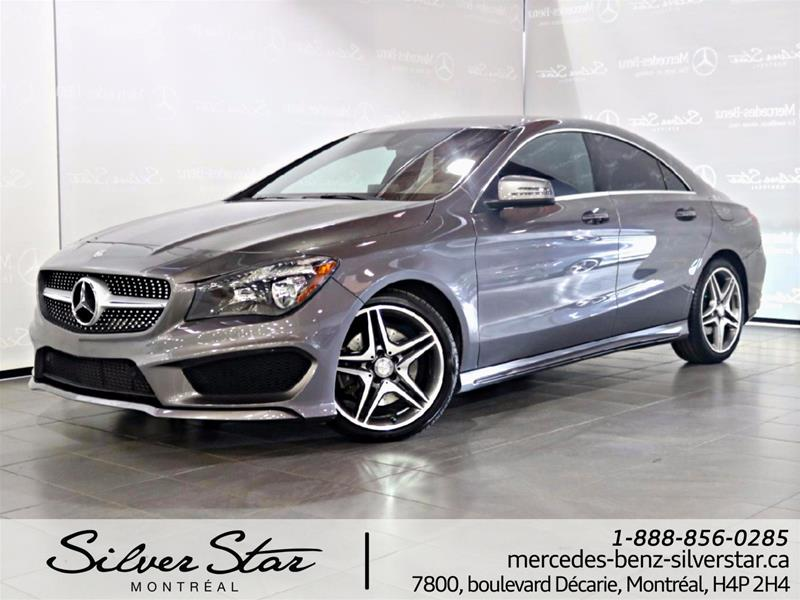 Pre owned 2016 mercedes benz cla cla250 coupe montr al for Mercedes benz silver star