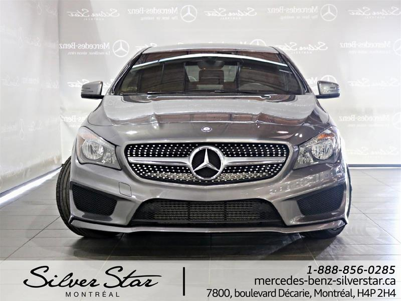 Pre owned 2016 mercedes benz cla cla250 coupe in montr al for Silver star mercedes benz parts
